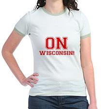 On Wisconsin Jr. Ringer T-Shirt