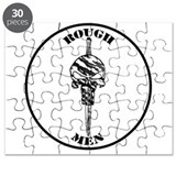 Rough Men Logo Puzzle