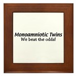 Monoamniotic Twins Framed Tile