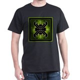 Naumaddic Arts Logo - Green - T-Shirt