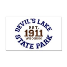 Devil's Lake State Park Car Magnet 20 x 12