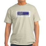 Login Ash Grey T-Shirt