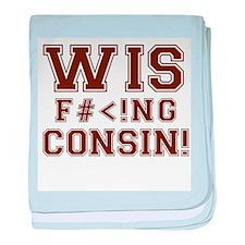 Wis-effing-consin! baby blanket