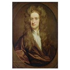 Portrait of Isaac Newton (1642-1727) 1702 (oil on