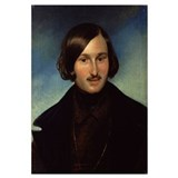 Portrait of Nikolay Gogol, 1841 (oil on canvas)