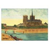 Notre-Dame (view of the apse) c.1933 (oil on canva