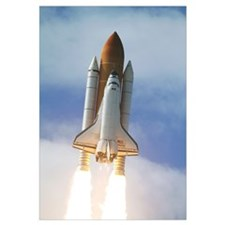 Space Shuttle Atlantis lifts off from Kennedy Spac