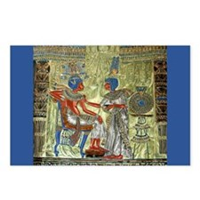 Tutankhamons Throne Postcards (Package of 8)
