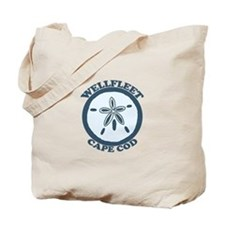 "Wellfleet MA ""Sand Dollar"" Design. Tote Bag"