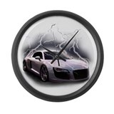 Funny Lamborghini Large Wall Clock