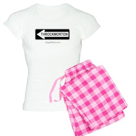 Throckmorton Sign Women's Light Pajamas