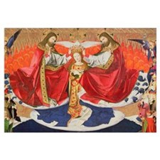 The Coronation of the Virgin, completed 1454 (oil