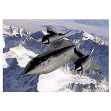 SR71B Blackbird in flight
