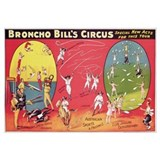 Broncho Bill's Circus, Birmingham c.1890-1910 (col