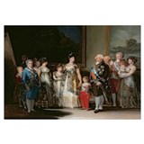 Charles IV (1748-1819) and his family, 1800 (oil o