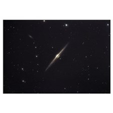 NGC 4565 an edgeon unbarred spiral galaxy in the c
