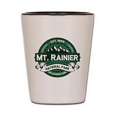 Mt. Rainier Forest Shot Glass