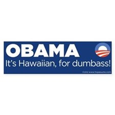 Bumperstickers Bumper Sticker