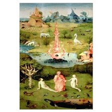 he Garden of Earthly Delights: The Garden of Eden,