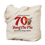 Yung No Mo 70th Birthday Tote Bag