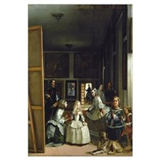 Las Meninas or The Family of Philip IV, c.1656 (oi
