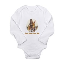 Some Bunny Long Sleeve Infant Bodysuit
