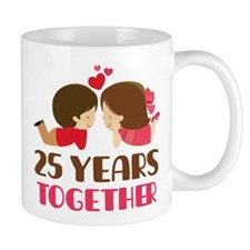 25 Years Together Anniversary Mug