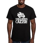 Vada a bordo, CAZZO! Men's Fitted T-Shirt (dark)
