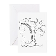 Cute Curiouser and curiouser Greeting Card