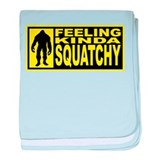 Finding Bigfoot - Squatchy baby blanket