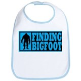 Finding Bigfoot logo Bib