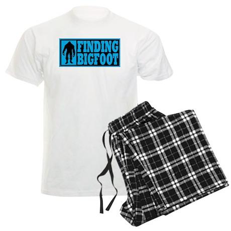 Finding Bigfoot logo Men's Light Pajamas
