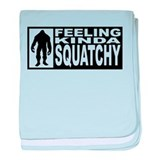 Feeling Squatchy - Finding Bigfoot baby blanket