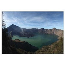 Rinjani eruption Lombok Island Indonesia