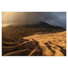 Dukono volcano ash desert Halmahera Island Indones