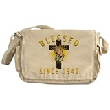 Blessed Since 1942 Messenger Bag