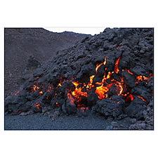 Fimmvrduhals lava flow Eyjafjallajkull Iceland