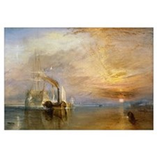 The Fighting Temeraire Tugged to her Last Berth to