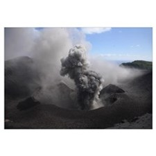 Yasur eruption Tanna Island Vanuatu