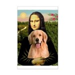 Mona Lisa/Golden #8 Mini Poster Print