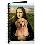 Mona Lisa/Golden #8 Journal