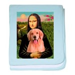 Mona Lisa/Golden #8 baby blanket