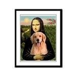 Mona Lisa/Golden #8 Framed Panel Print