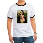 Mona Lisa/Golden #8 Ringer T