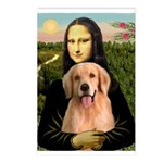 Mona Lisa/Golden #8 Postcards (Package of 8)