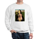 Mona Lisa/Golden #8 Sweatshirt