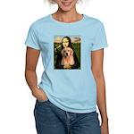 Mona Lisa/Golden #8 Women's Light T-Shirt