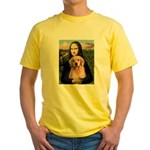 Mona Lisa/Golden #8 Yellow T-Shirt