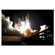 Space shuttle Endeavour lifts off into the night s
