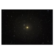 The red giant star Beta Andromedae and its ghost g
